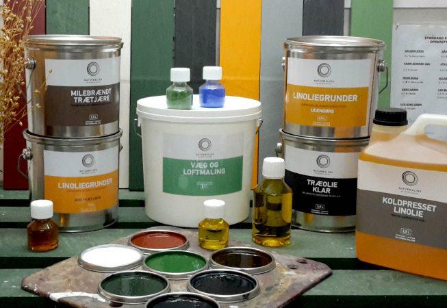 Miljøvenlig maling linolie