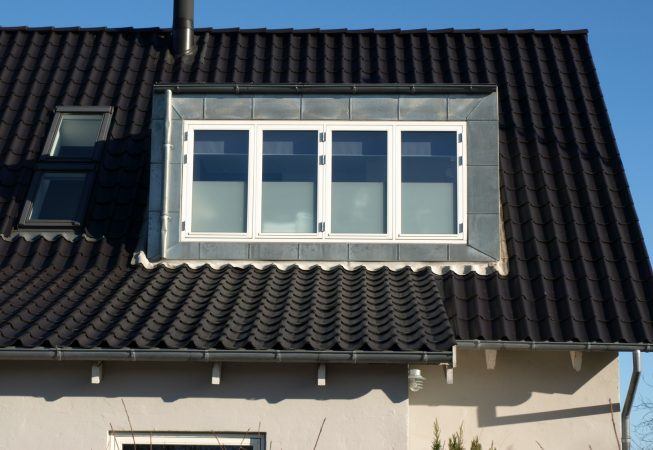 4 fags sidehængt vindue i kernetræ Højbjerg