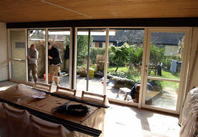 Renovering nye vinduer energi