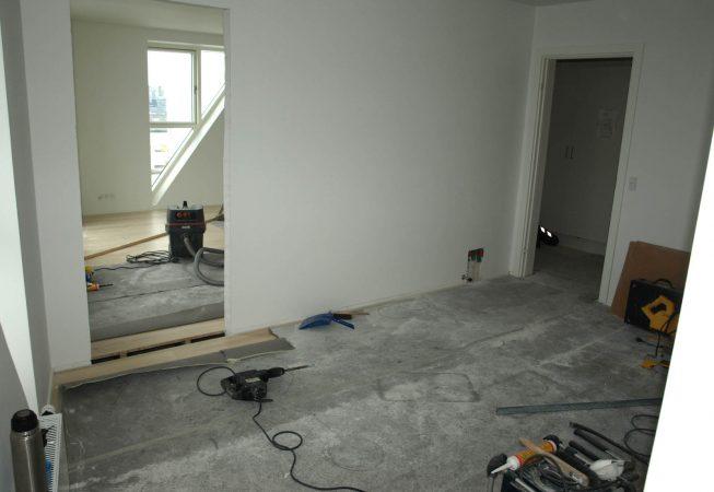 Renovering på Isbjerget